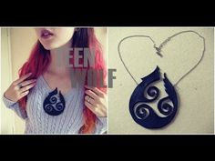 ▶ D.I.Y. Colar Teen Wolf | Teen Wolf Necklace - YouTube