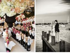 Our Muse - Navy Nantucket Wedding - Be inspired by Jessica & John's navy blue Nantucket wedding - wedding, nantucket, lighthouse, vintage, c...
