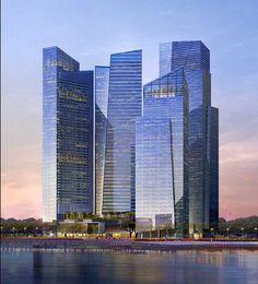 Singapore Marina Bay Finans Merkezi