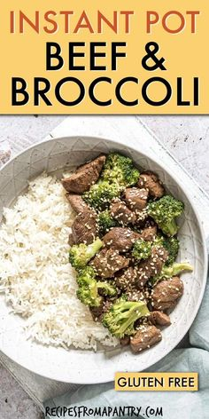 Heres the better than take out Instant Pot Beef and Broccoli dish youve been waiting for. This quick to whip up beef broccoli Instant Pot recipe is a . Asian Recipes, Beef Recipes, Cooking Recipes, Healthy Recipes, Broccoli Dishes, Broccoli Beef, Best Instant Pot Recipe, Instant Pot Dinner Recipes, Lunch Recipes
