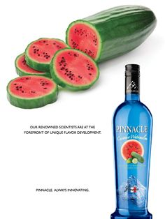 Pinnacle Cucumber Watermelon..hmm going to have to try this!