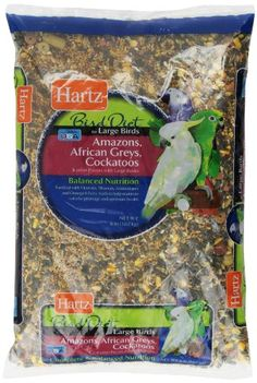Hartz Bird Diet Food for Large Birds 8Pound >>> You can find out more details at the link of the image. (Note:Amazon affiliate link)