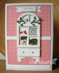 Blog tonic: How to make a cabinet from the window die & CREATE AND CRAFT TODAY