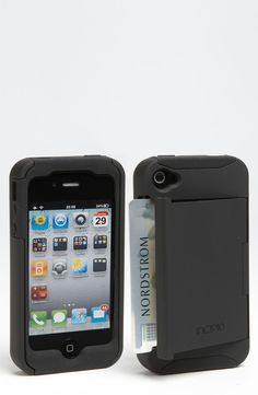 Incipio 'Stowaway' iPhone 4 & 4S Case