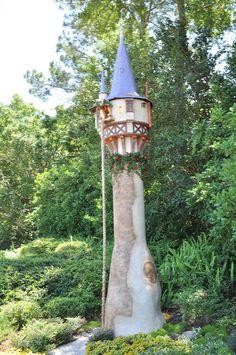 rapunzel's tower #disneyworld #epcot