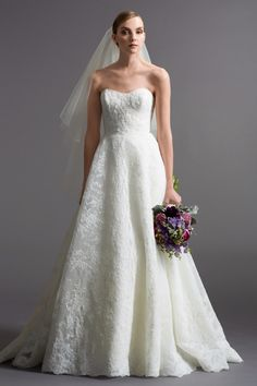 Watters Maddalena gown - Lace ball gown - Available at Julian Gold Bridal