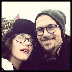 kat dennings & nick zano= awesome couple