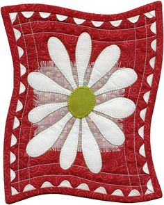 Happy Daisy by Susan Cleveland  I love this simple design.