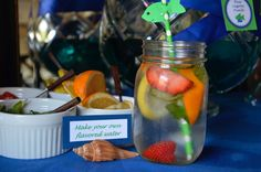 Make your own flavored water