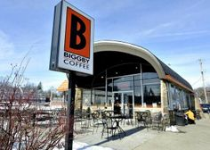 Biggby Coffee's first store in East Lansing, Michigan is to be razed and replaced with a six-story building. Photo by Lansing State Journal East Lansing, Lansing Michigan, Biggby Coffee, Six Story, Coffee Store, Michigan State Spartans, Lions, Explore, Pure Products
