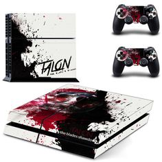 Hero alliance design skin for ps4 decal sticker console & controllers - Decal Design