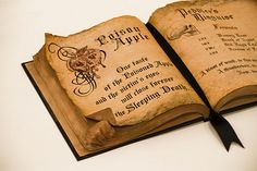 make your own spell book - cool!
