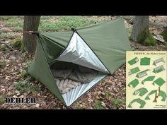 """Pedduk – the Shelter System TEIL 1 (Notunterkunft / """"German Super Shelter"""") Bushcraft Camping, Bushcraft Backpack, Bushcraft Skills, Bushcraft Gear, Camping Survival, Outdoor Survival, Survival Skills, Camping Hacks, Survival Food"""