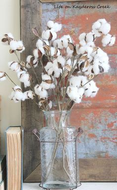 27 Best Decorating With Cotton Stems Images House Decorations
