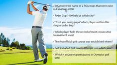 best golf trivia questions with answers(Quiz) Sports Trivia Questions, Trivia Questions And Answers, The Rules, Question And Answer, This Or That Questions, Byron Nelson, Masters Tournament, Get Gift Cards, Ryder Cup