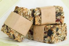 Fuel to Go Homemade Protein Bars | Art and the Kitchen