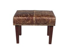 Alder and Tweed Sutton Footstool. $185.