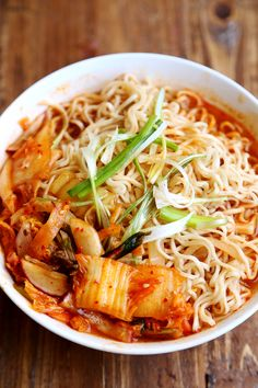 recipe kimchi vegetarian ramen side Great flavor! steamed gluten a of veggies (vegan, with free with
