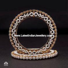 Best Diamond Bracelets : Diamonds for the wrists (Jindal Jewellers). Indian Wedding Jewelry, Indian Jewelry, Gold Bangles Design, Jewelry Design, Diamond Bracelets, Diamond Jewellery, Best Diamond, Schmuck Design, Silver Diamonds