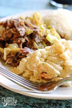 Authentic Hawaiian Macaroni Salad | Favorite Family Recipes