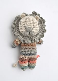 Ander lion crochet - No pattern :(
