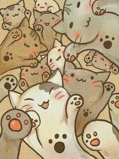 Image shared by Sol Bertino Benitez. Find images and videos about cat, wallpaper and kawaii on We Heart It - the app to get lost in what you love. I Love Cats, Crazy Cats, Cute Cats, Adorable Kittens, Funny Cats, Kawaii Cat, Cat Wallpaper, Wallpaper Quotes, Coldplay Wallpaper
