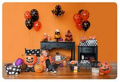Hallowen Party Photo Set I styled for Visive Photography