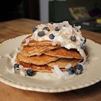 Protein Pancakes by Excerpt from I Quit Sugar by Sarah Wilson.