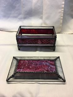 This beautiful treasure box is great piece for small treasures in the bedroom or bathroom for items such as jewelry, loose change, nail files and clippers, small gadgets and more! Handmade to order customizing colors and size for a one of a kind addition to your home or a gift for that