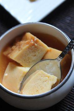 YUMMY TUMMY: Microwave Caramel Custard Recipe - Egg Custard Pudding Recipe