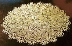 free round shawl/doily/blanket pattern. crazy picot crochet bind off