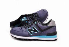 Joes New Balance ML574WBN Blue Black Windbreaker Mens Shoes