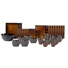 Buy Gallatin Service for 8 with Serving Bowl and Platter online at Pfaltzgraff.com