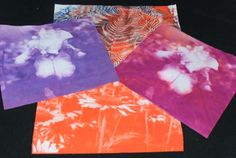 Review: Jacquard Solarfast from Bloom Bake Create Sun Prints, Sun Painting, Print Your Photos, Cyanotype, Small Canvas, How To Dye Fabric, Fabric Crafts, Fabric Design, Printing On Fabric