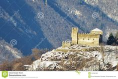 Photo about I used a little compact camera with a super zoom. Image of used, corbaro, castello - 107591002 Canton Ticino, All Pictures, Switzerland, Castle, It Cast, Stock Photos, Landscape, Image, Things To Sell