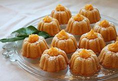Food Lust People Love: Citrus Lust Mini Bundt Cakes with Lemon Curd for #BundtaMonth