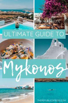 Mykonos Grecia, Santorini, Mykonos Island, Greece Vacation, Greece Travel, Greece Honeymoon, Greece Trip, Hawaii Travel, Italy Travel
