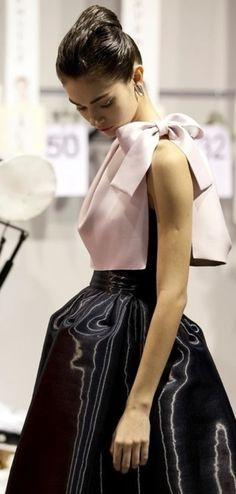 Christian Dior fall13 | Antonina Vaslychenko. Dior goes back to its full-skirted heritage.