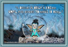 inspiring quotes, dream quotes, Betty Boop comments, life quotes, Betty Boop fairy