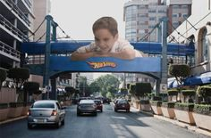 Marketing de Guerrilla para Hot Wheels/México Distrito Federal.