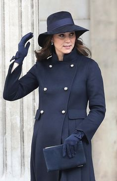 Kate Middleton Photos - Catherine, Duchess of Cambridge leaves the Grenfell Tower National Memorial Service held at St Paul's Cathedral on December 14, 2017 in London, England. The Royal Family and Prime Minister will join survivors of the Grenfell Tower at the memorial at St Paul's Cathedral for the six-month anniversary which killed 71 people. About 1,500 people are expected to attend the multi-faith service. - Grenfell Tower National Memorial Service