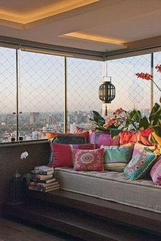 Image de colorful, decoration, and couch