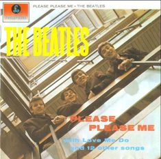 Carátula Interior Frontal de The Beatles - Please Please Me