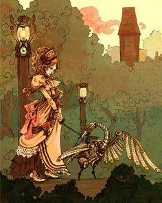 steampunk art - Pesquisa Google
