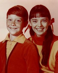 """""""Lost in Space"""" (1965-68)  Billy Mumy as Will Robinson,  Angela Cartwright as Penny Robinson"""
