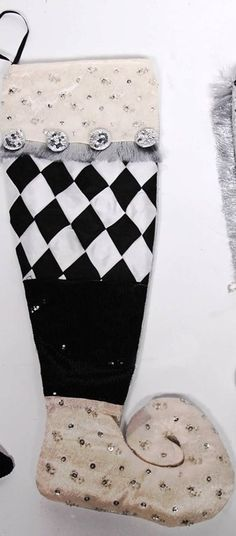 Christmas stockings, holders, & pillows