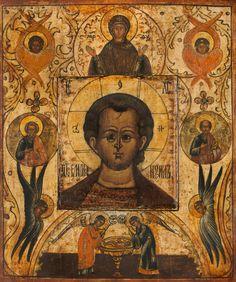 "Traditional Panel Orthodox icon of Christ ""Emmanuel"". Byzantine Art, Byzantine Icons, Religious Icons, Religious Art, Paint Icon, Russian Icons, European Paintings, John The Baptist, Orthodox Icons"