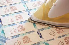 craftyblossom: fabric labels :: a tutorial for Alex's jackets. No more lost and found