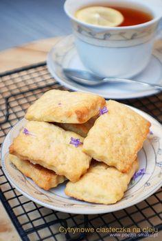 Ciasteczka na oleju / Lemon cookies (with oil) - recipe in Polish