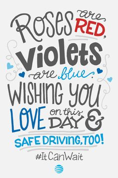 Join the movement to end distracted driving. Take the pledge, spread the message, and become an advocate in your community today. It Can Wait, Roses And Violets, Distracted Driving, Back Off, Paul Walker, Texting, First Love, Blues, Sad